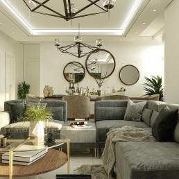 طراحی داخلی منزل سبک مدرن پونک